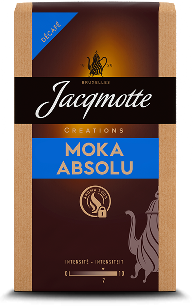 Jacqmotte Absolu Cafeïnevrije koffie